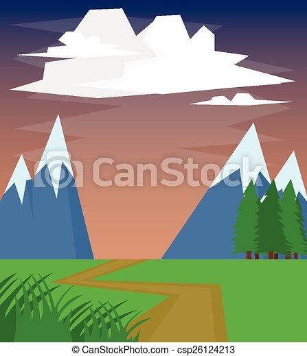 montagna - csp26124213