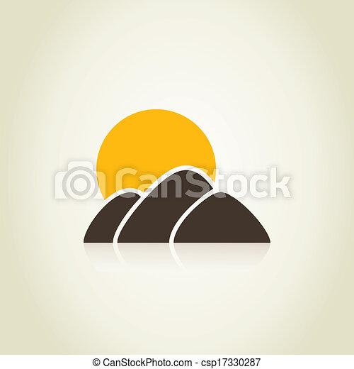 montagna - csp17330287