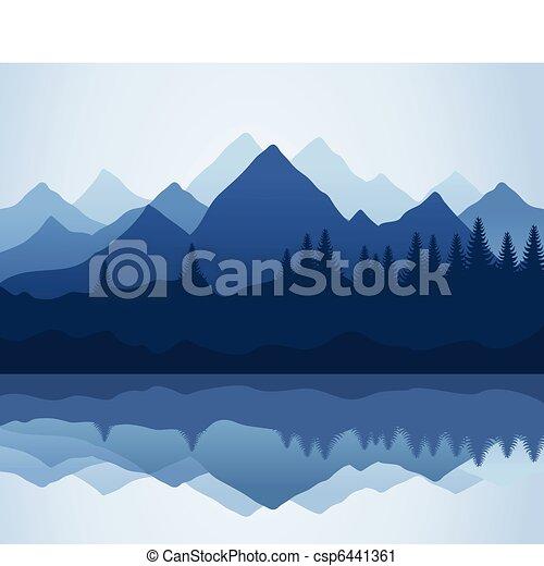 montagne - csp6441361