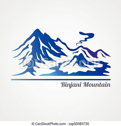 montagne, rinjani - csp50083730
