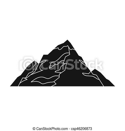 montagne style illustration montagnes symbole glace image recherchez photos clipart. Black Bedroom Furniture Sets. Home Design Ideas