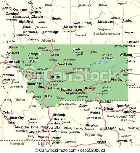Montana - csp55208823