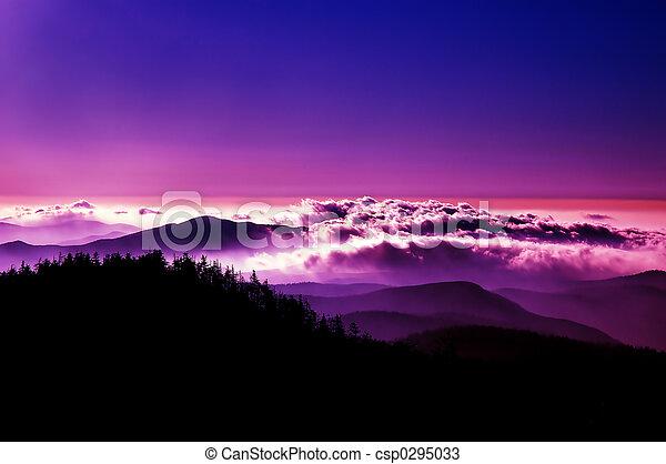 montanha, glória - csp0295033