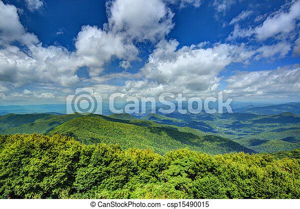 montanhas appalachian - csp15490015
