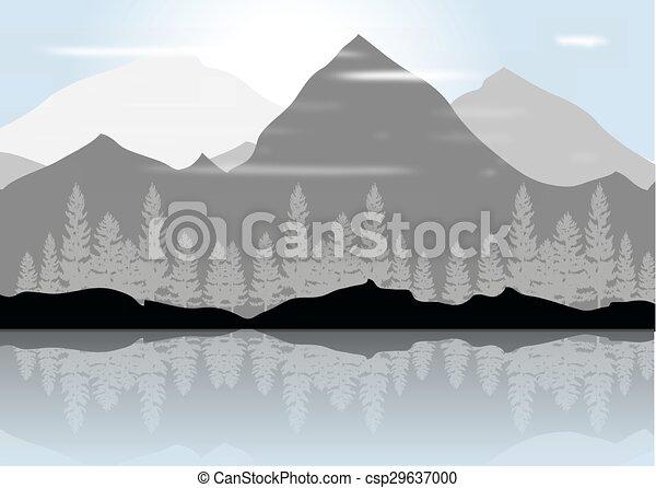 montanhas - csp29637000