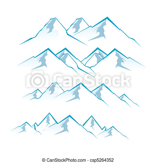 montanhas - csp5264352