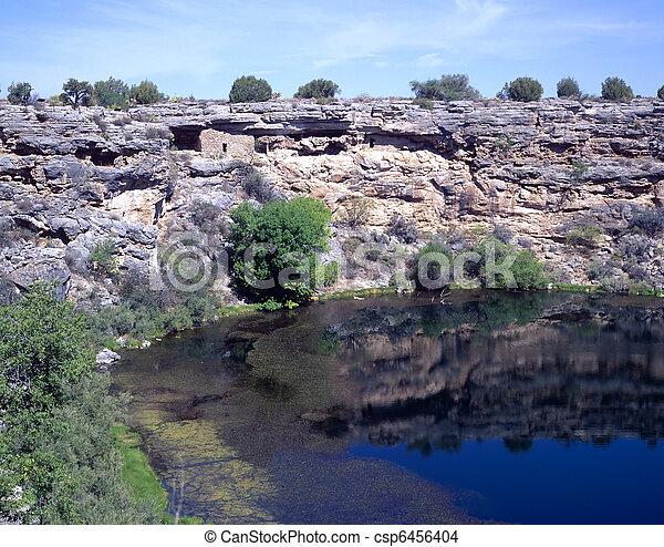 Montezuma's Well National Monument - csp6456404