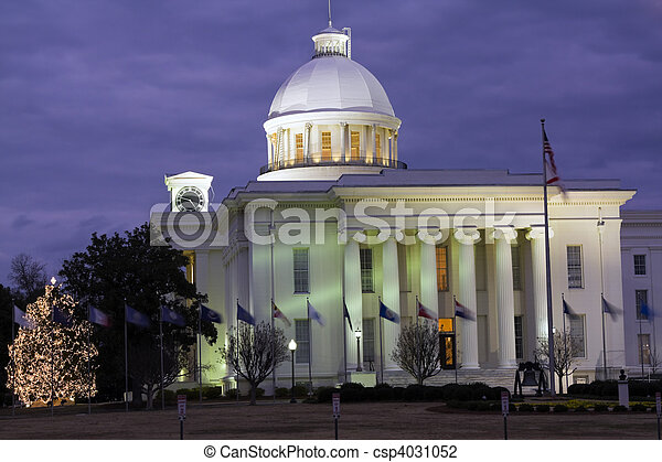 Montgomery, Alabama - State Capitol - csp4031052
