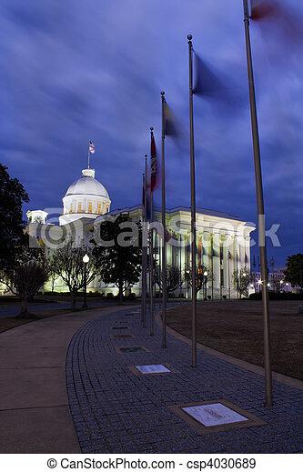 Montgomery, Alabama - State Capitol - csp4030689