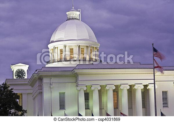 Montgomery, Alabama - State Capitol - csp4031869