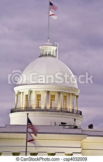 Montgomery, Alabama - State Capitol - csp4032009