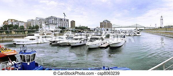 Montreal Old Port - csp8063239