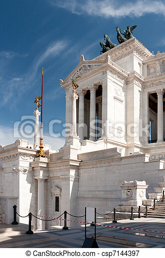 Monument of the Vittorio Emanuele II - csp7144397