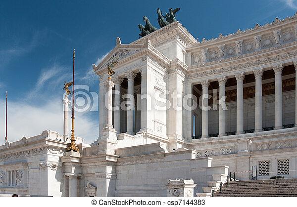 Monument of the Vittorio Emanuele II - csp7144383