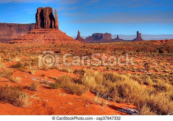 Monument Valley Arizona Navajo Nation - csp37947332