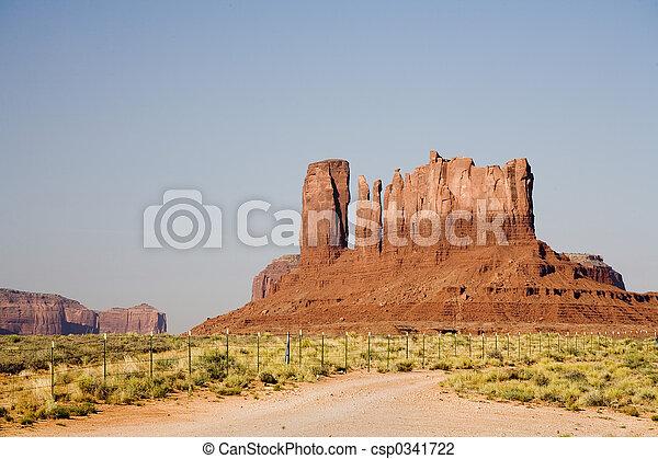 Monument Valley Rocks - csp0341722