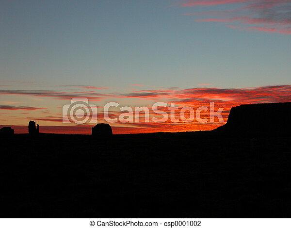 Monument Valley Sunr - csp0001002