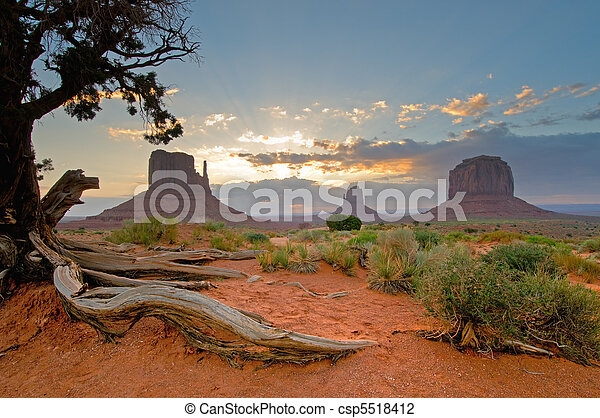 Monument Valley, Utah, USA - csp5518412