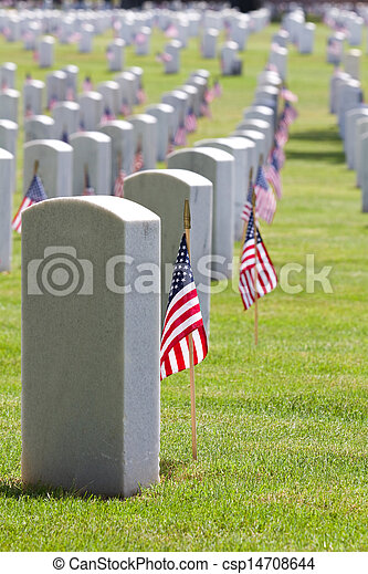 Día conmemorativo del cementerio - csp14708644