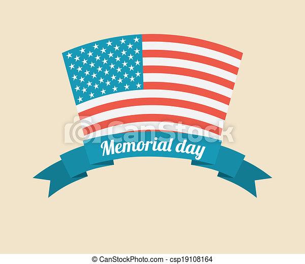 Diseño de un día conmemorativo - csp19108164