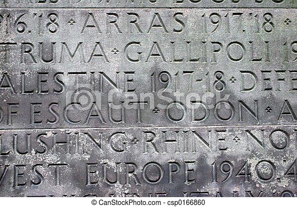 Conmemoración de guerra - csp0166860