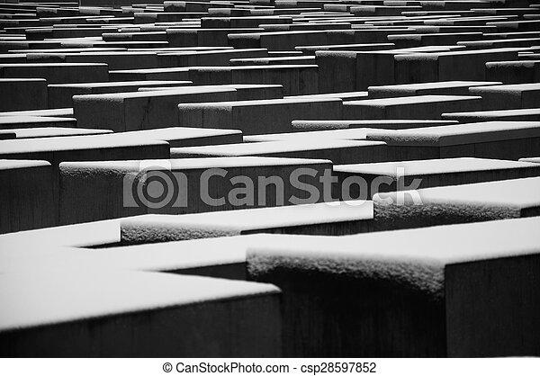 Holocausto Memorial - csp28597852