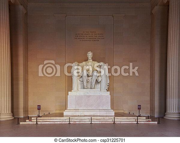 monumento de lincoln - csp31225701