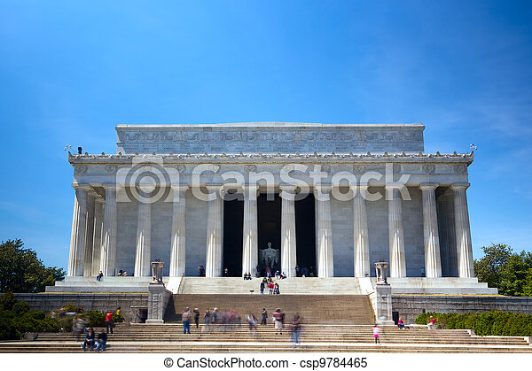 El monumento a Lincoln - csp9784465
