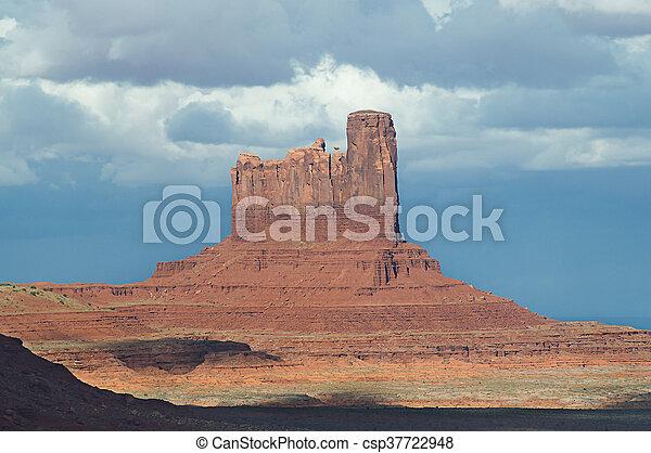 El parque tribal de Monument Valley Navajo. - csp37722948