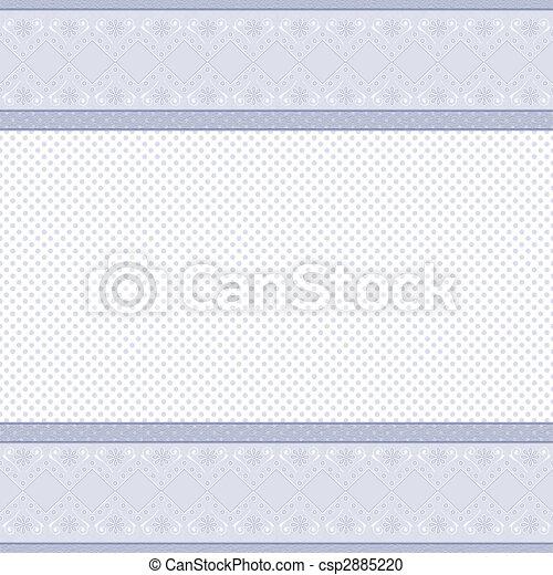 mooi, grens, kant, achtergrond - csp2885220