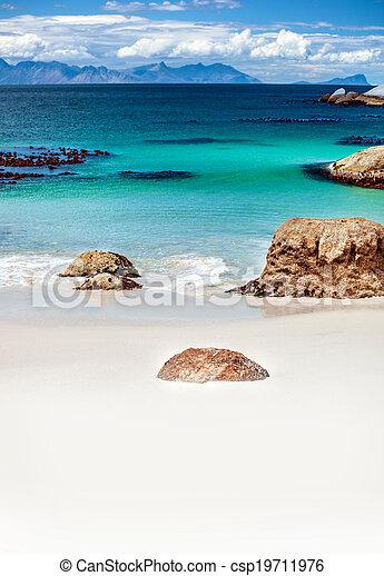 mooi, strand, landscape - csp19711976