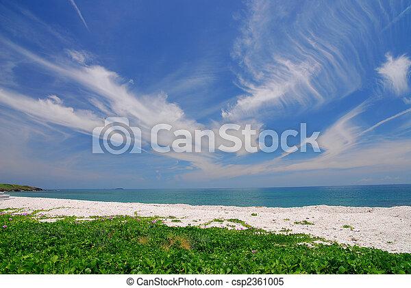 mooi, strand. - csp2361005