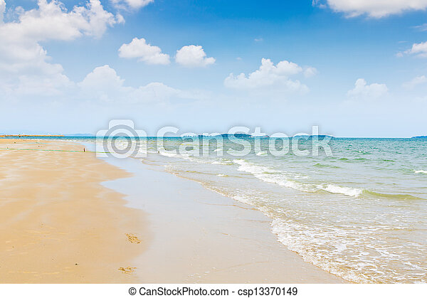 mooi, strand - csp13370149