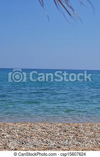 mooi, strand - csp15607624