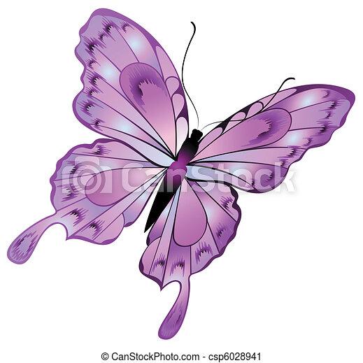mooi, vlinder - csp6028941
