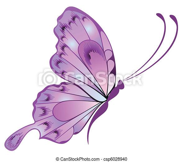 mooi, vlinder - csp6028940