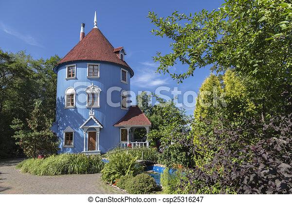 Moomin house - csp25316247