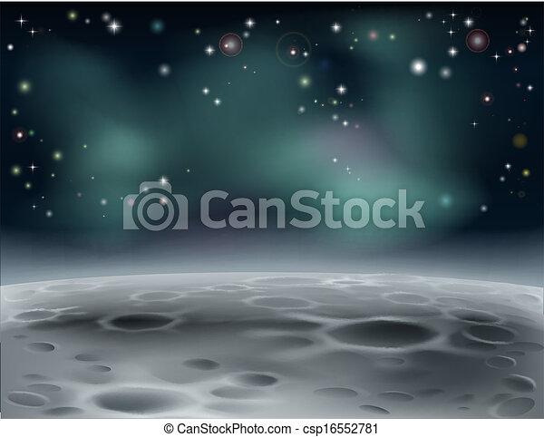 Moon background - csp16552781