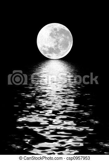 Moon Beauty - csp0957953