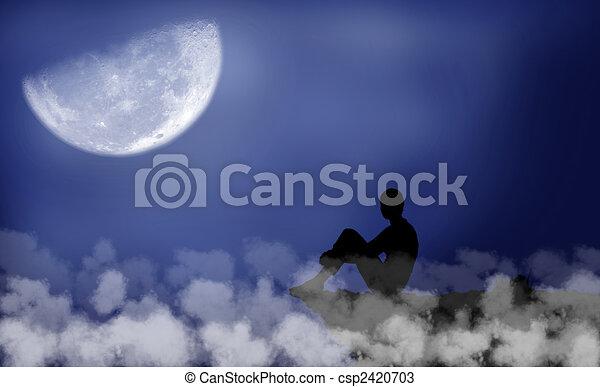 Moon - csp2420703
