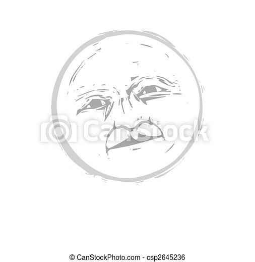 Moon Face #1 - csp2645236