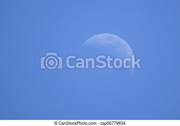 moon in the sky - csp56779834