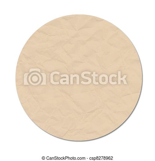 moon paper craft - csp8278962
