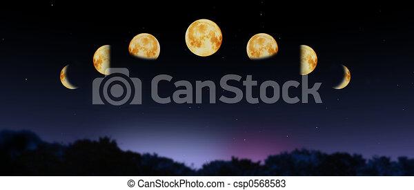 moon phases - csp0568583