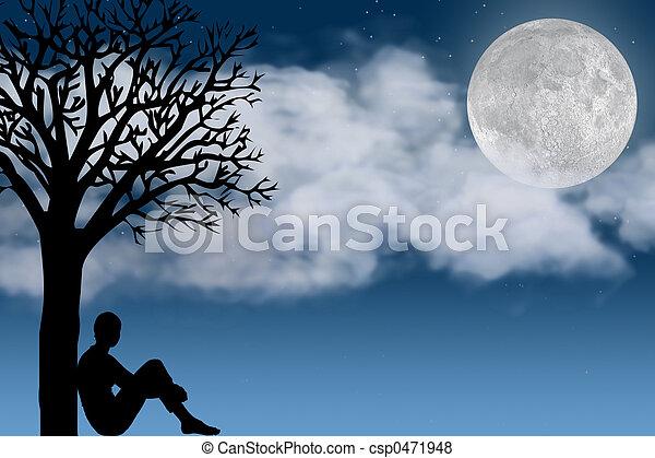 Moon - csp0471948