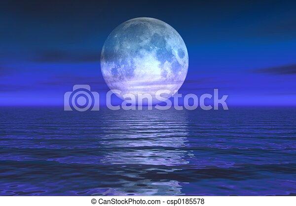Moon Rise - csp0185578