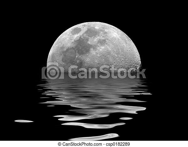 Moon Rising - csp0182289