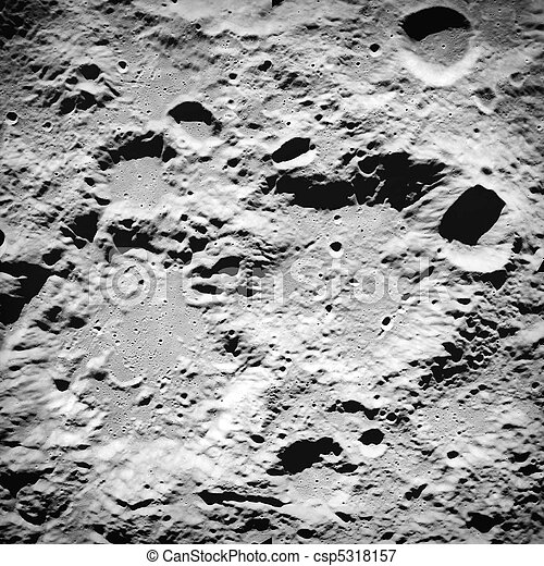 Moon surface - csp5318157