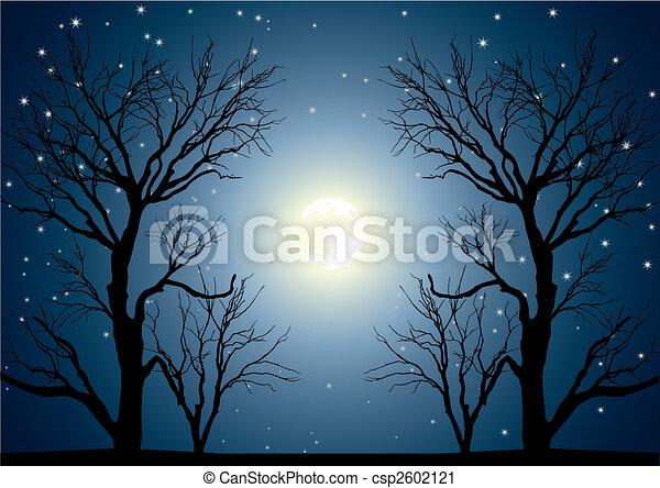 moon trees - csp2602121