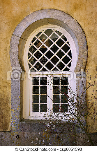 Moorish Window - csp6051590
